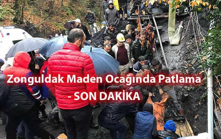 Zonguldak Maden Ocağında Patlama